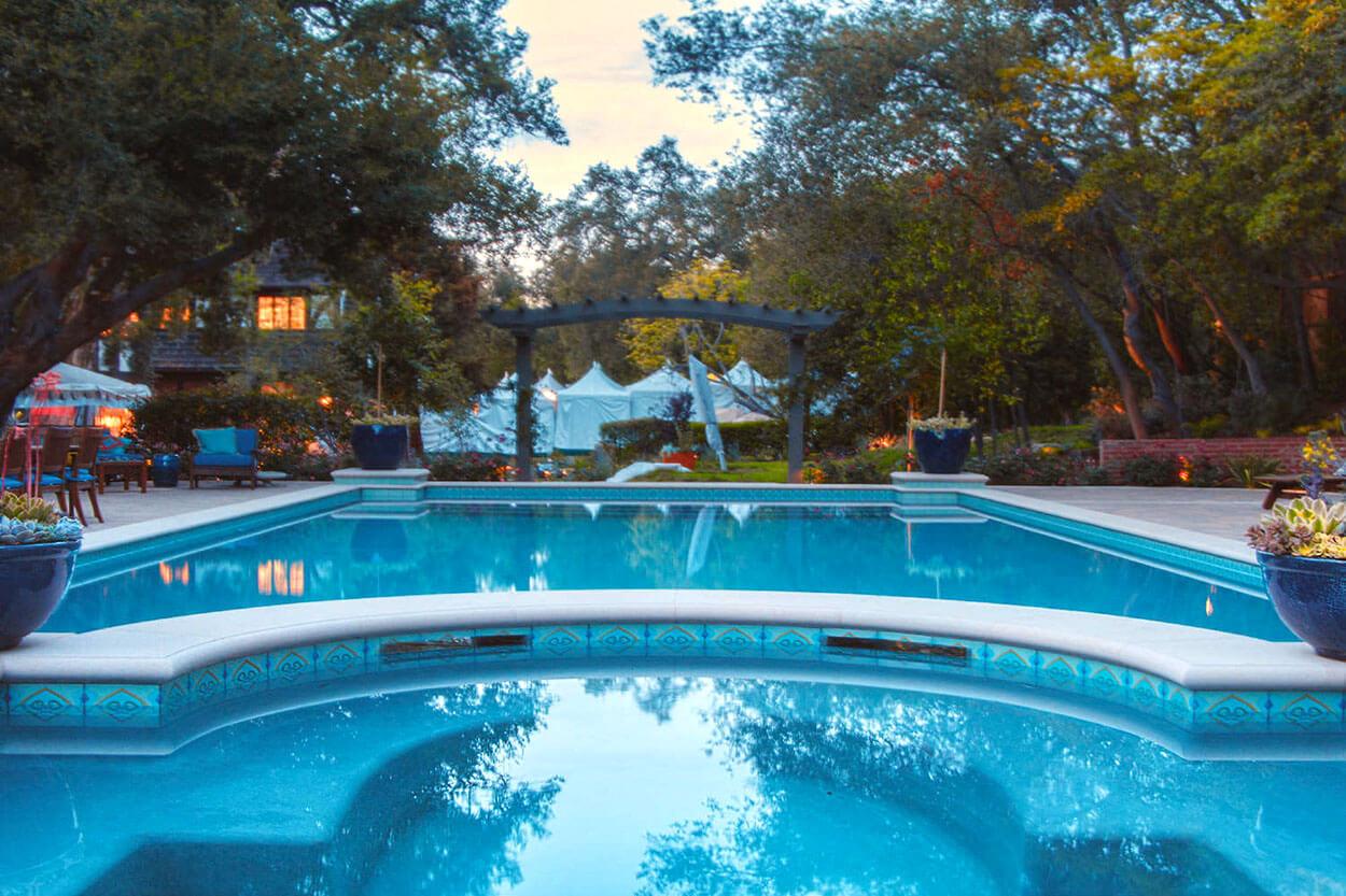 Backyard Spa by Southern California Pools