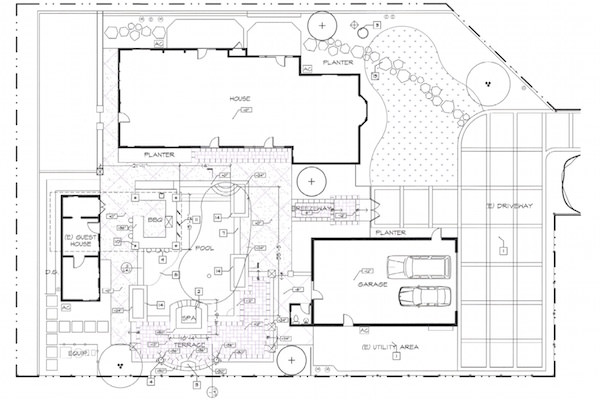Pool Design Blueprints