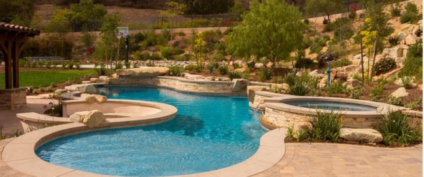 Pool remodeling archives southern california swimming pools for Landscaping around swimming pools