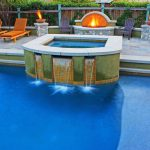 Custom Spa by Southern California Swimming Pools