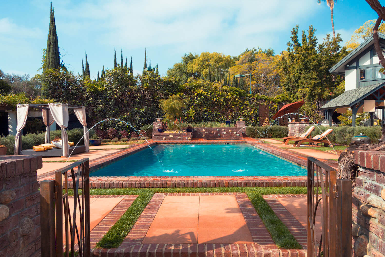 Gallery southern california swimming pools for English garden pool