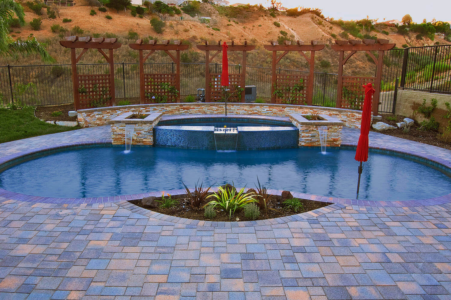 Elegant Pool #8 by Southern California Pools