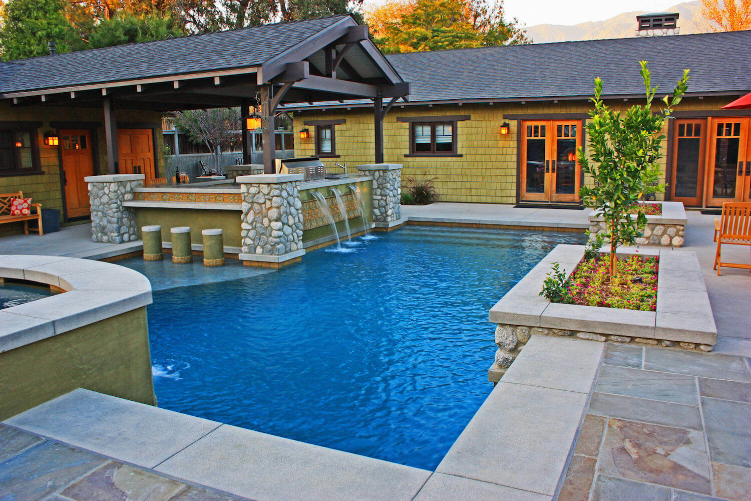 Modern Pool #1 by Southern California Pools