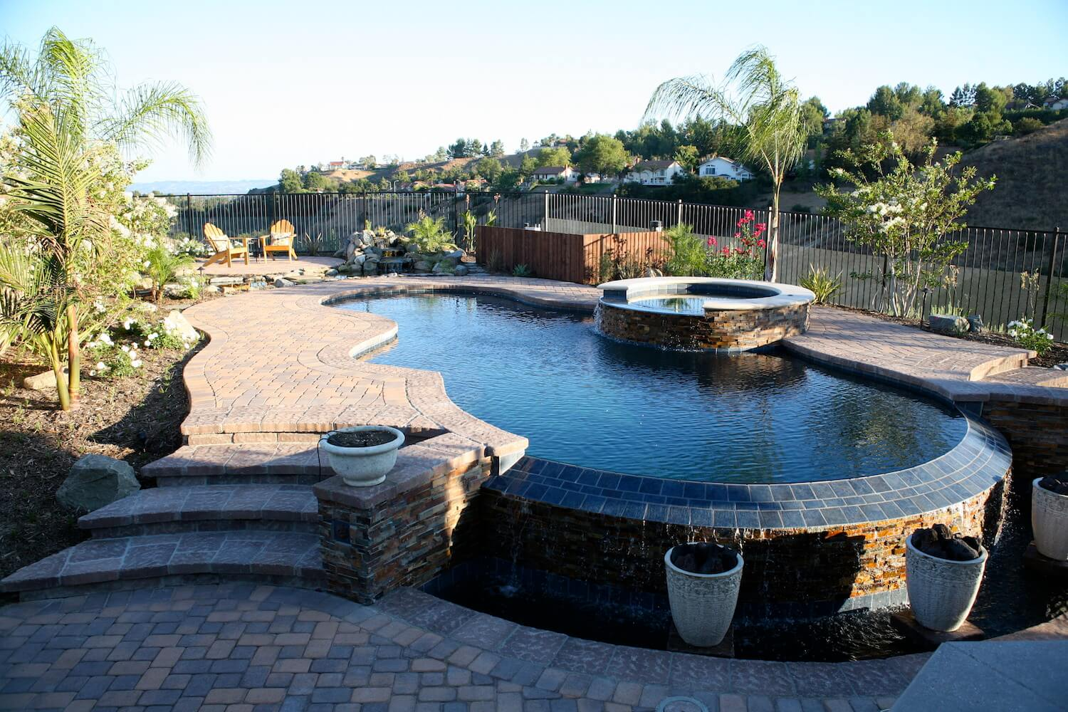 Modern Pool #5 by Southern California Pools