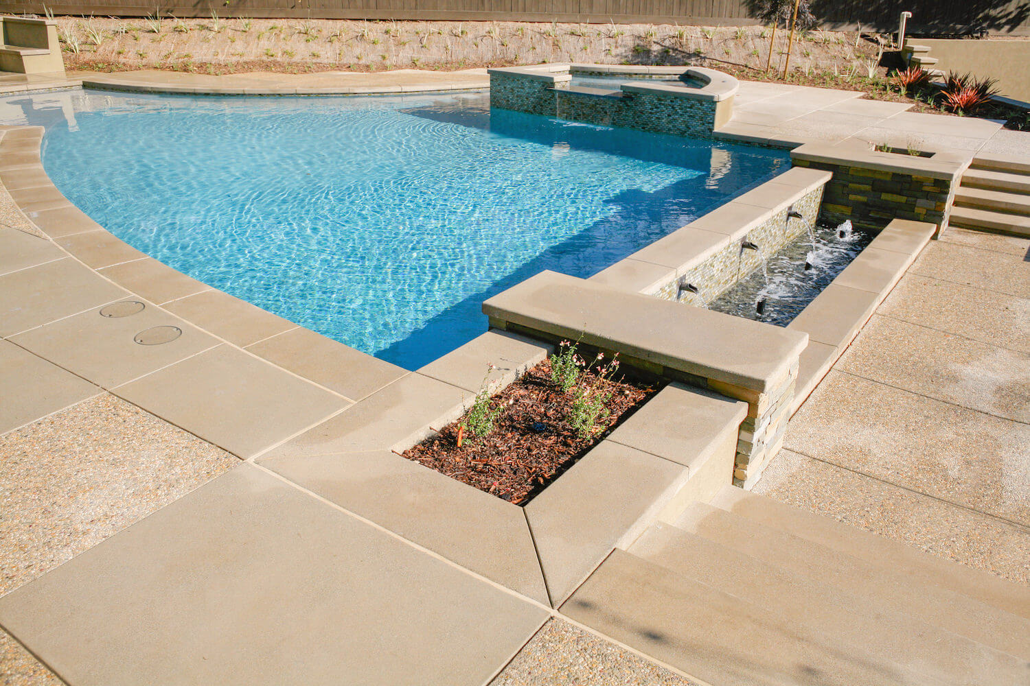 Modern Pool #7 by Southern California Pools