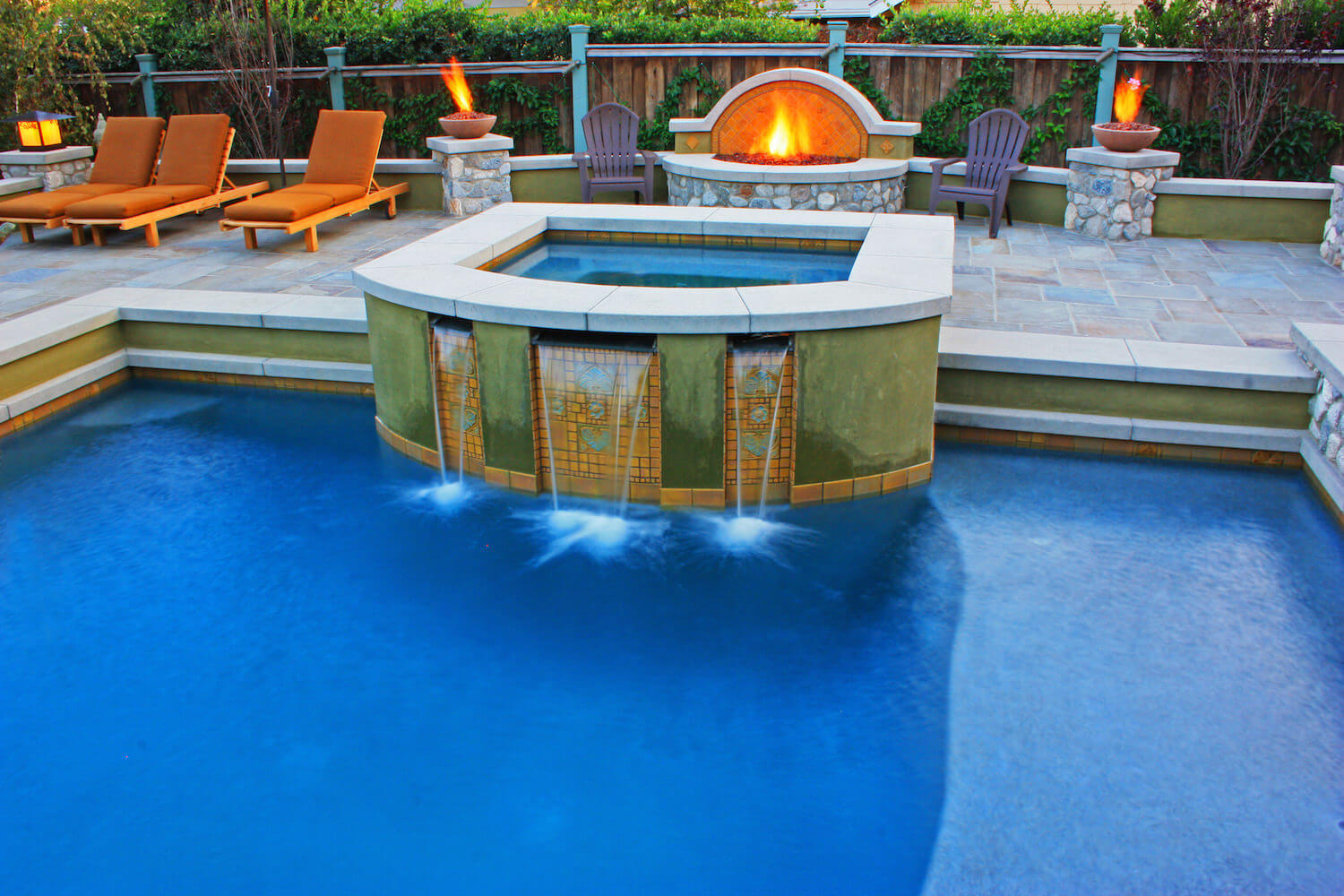 Spa #1 by Southern California Pools