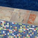 Tiled Pool Deck