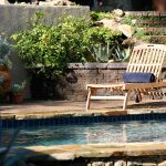 Outdoor Pool with Pretty Stones